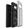 VRS Design Damda Folder Samsung Galaxy S8 Light Silver Kılıf - Resim 3