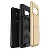 VRS Design Damda Folder Samsung Galaxy S8 Shine Gold Kılıf - Resim 3