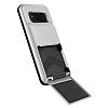 VRS Design Damda Folder Samsung Galaxy S8 Light Silver Kılıf - Resim 1