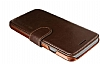 VRS Design Dandy Layered Leather iPhone 7 Siyah Kılıf - Resim: 3