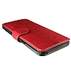 VRS Design Dandy Layered Leather Samsung Galaxy S8 Bordo Kılıf - Resim 3