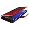 VRS Design Dandy Layered Leather Samsung Galaxy S8 Bordo Kılıf - Resim 1