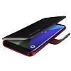 VRS Design Dandy Layered Leather Samsung Galaxy S8 Siyah Kılıf - Resim 3