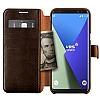 VRS Design Dandy Layered Leather Samsung Galaxy S8 Kahverengi Kılıf - Resim 2