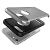 VRS Design Duo Guard iPhone 7 Steel Silver Kılıf - Resim: 1