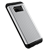 VRS Design Hard Drop Waved Samsung Galaxy S8 Light Silver Kılıf - Resim 2