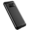 VRS Design Hard Drop Waved Samsung Galaxy S8 Dark Silver Kılıf - Resim 4