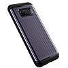 VRS Design Hard Drop Waved Samsung Galaxy S8 Plus Orchid Grey Kılıf - Resim 1