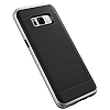VRS Design High Pro Shield Samsung Galaxy S8 Light Silver Kılıf - Resim: 1