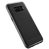 VRS Design High Pro Shield Samsung Galaxy S8 Plus Dark Silver Kılıf - Resim: 1