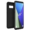 VRS Design Single Fit Samsung Galaxy S8 Plus Siyah Kılıf - Resim 3