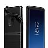 VRS Design Single Fit Samsung Galaxy S9 Plus Siyah Kılıf - Resim 1