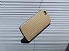 Eiroo Carier iPhone 6 / 6S Silikon Kenarlı Gold Rubber Kılıf - Resim 3