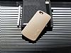Eiroo Carier iPhone 6 / 6S Silikon Kenarlı Gold Rubber Kılıf - Resim 2