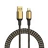Wiwu Golden Series GD-100 Lightning Data Cable 3m