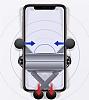 Wiwu PL100 Araç Havalandırma Telefon Tutucu - Resim 2