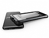 X-Doria Clear Samsung Galaxy S8 Plus Ultra Koruma Siyah Kılıf - Resim 4