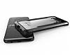 X-Doria Clear Samsung Galaxy S8 Ultra Koruma Siyah Kılıf - Resim 5