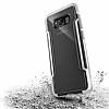 X-Doria Clear Samsung Galaxy S8 Ultra Koruma Beyaz Kılıf - Resim 2