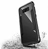 X-Doria Clear Samsung Galaxy S8 Ultra Koruma Siyah Kılıf - Resim 1