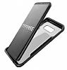 X-Doria Clear Samsung Galaxy S8 Ultra Koruma Siyah Kılıf - Resim 3