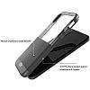 X-Doria Dash iPhone X Ultra Koruma Dark Silver Kılıf - Resim 2