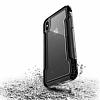 X-Doria Defense Clear iPhone X Ultra Koruma Siyah Kılıf - Resim 2