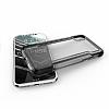X-Doria Defense Clear iPhone X Ultra Koruma Siyah Kılıf - Resim 3