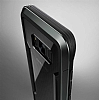 X-Doria Defense Shield Samsung Galaxy S8 Plus Ultra Koruma Dark Silver Kılıf - Resim 4