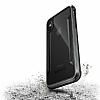 X-Doria Defense Shield iPhone X Ultra Koruma Dark Silver Kılıf - Resim 1