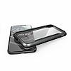 X-Doria Defense Shield iPhone X Ultra Koruma Dark Silver Kılıf - Resim 2
