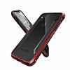 X-Doria Defense Shield iPhone X / XS Ultra Koruma Kırmızı Kılıf - Resim 3
