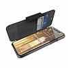 X-Doria Engage Folio iPhone X Manyetik Kapaklı Siyah Gerçek Deri Kılıf - Resim 2