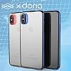 X-Doria Engage iPhone X Lacivert Rubber Kılıf - Resim 2