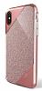 X-Doria Revel Lux iPhone X Ultra Koruma Rose Gold Kılıf - Resim 4