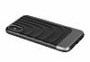 X-Doria Spartan iPhone X Ultra Koruma Mor Kılıf - Resim 2