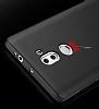 Xiaomi Mi 5s Plus Tam Kenar Koruma Siyah Rubber Kılıf - Resim 2