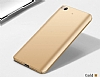 Xiaomi Mi 5s Tam Kenar Koruma Gold Rubber Kılıf - Resim 4