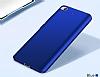Xiaomi Mi 5s Tam Kenar Koruma Lacivert Rubber Kılıf - Resim 4