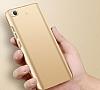 Xiaomi Mi 5s Tam Kenar Koruma Bordo Rubber Kılıf - Resim 2