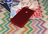 Xiaomi Mi Max Mat Kırmızı Silikon Kılıf - Resim 1