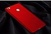 Xiaomi Mi Max Tam Kenar Koruma Bordo Rubber Kılıf - Resim 8