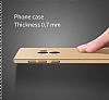 Xiaomi Mi Mix Tam Kenar Koruma Bordo Rubber Kılıf - Resim 5
