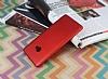 Xiaomi Mi Note 2 Tam Kenar Koruma Kırmızı Rubber Kılıf - Resim 1