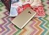 Xiaomi Mi Note 2 Tam Kenar Koruma Gold Rubber Kılıf - Resim 1