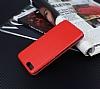 Xiaomi Mi Note 3 Curve Manyetik Kapaklı Kırmızı Deri Kılıf - Resim 4