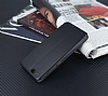 Xiaomi Mi Note 3 Curve Manyetik Kapaklı Siyah Deri Kılıf - Resim 4