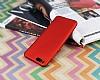 Xiaomi Mi Note 3 Mat Kırmızı Silikon Kılıf - Resim 2