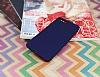 Xiaomi Mi Note 3 Mat Lacivert Silikon Kılıf - Resim 1