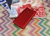 Xiaomi Redmi 4 Mat Kırmızı Silikon Kılıf - Resim 2